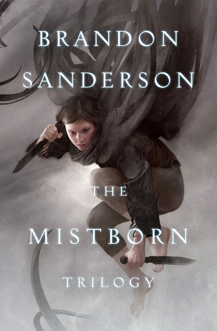 Mistborn Trilogy Cover Art